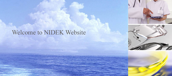 Welcome to NIDEK Website